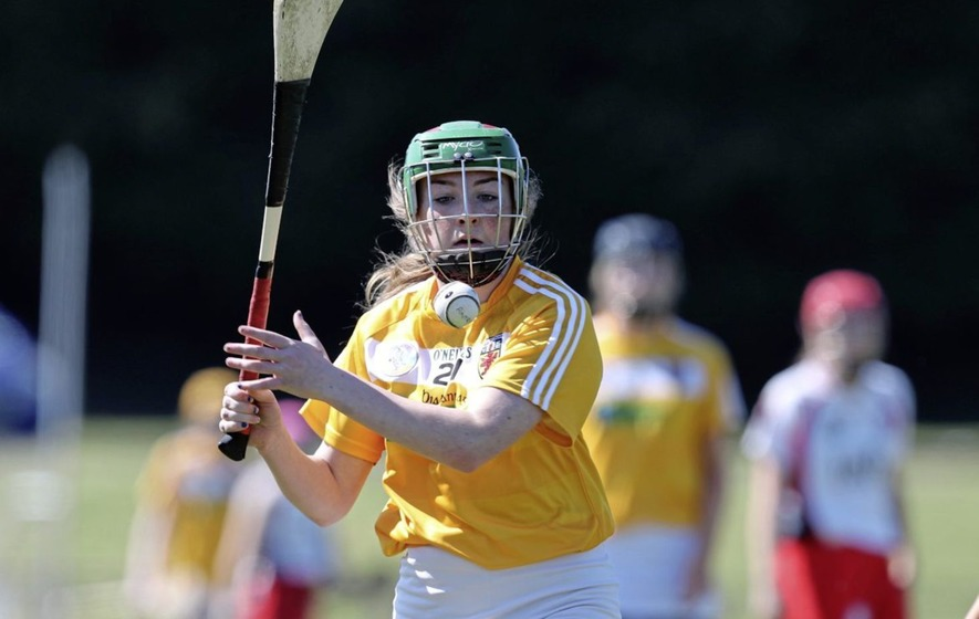 Aoife McDowell and Lauren Clarke lead the way for Down camogie squad