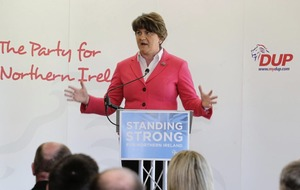 Arlene Foster: Unionism needs votes to counter nationalism's surge