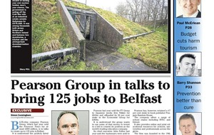 Pearson to create 300 new jobs in Belfast