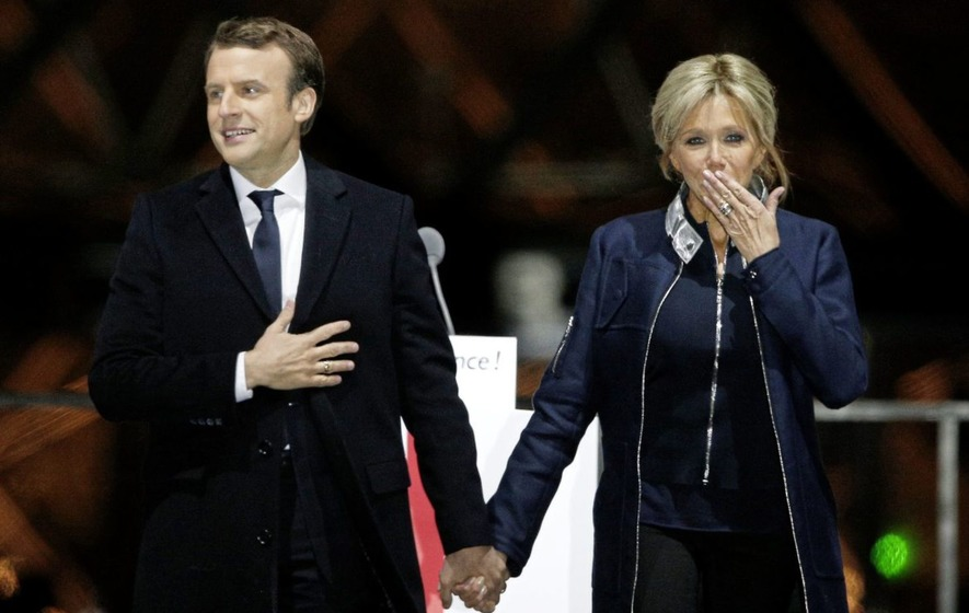 Emmanuel macron announces visit to germany and a name for Brigitte camus