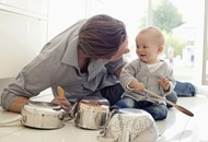 Fathers playing with babies boosts children's mental development