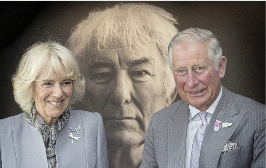 Charles praises 'universal voice' of Seamus Heaney during start of visit to Ireland