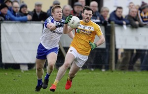 Kevin O'Boyle and James Laverty doubts for Antrim's Ulster SFC clash with Donegal