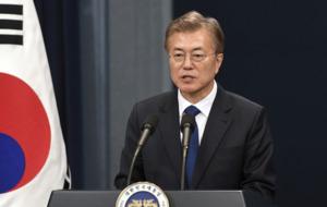 New South Korea president Moon Jae-In says he is willing to visit Pyongyang