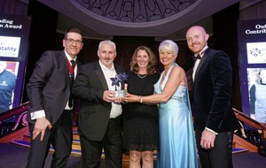 Jilly and Simon Dougan honoured for food roles at Institute of Hospitality NI Awards