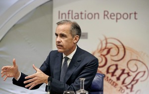 Mark Carney warns of 'challenging time for households' as wages fail to keep pace with prices