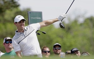 Rory McIlroy six shots off the first round lead at Sawgrass