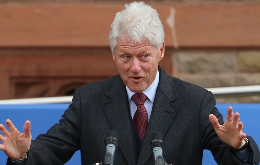 Bill Clinton reveals he owns two ant farms