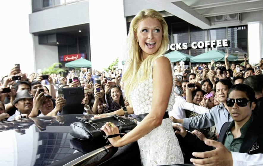 Paris Hilton invented the selfie, ok?