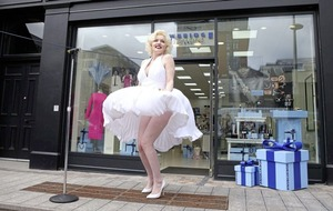 Video: Vintage Marilyn Monroe dress and memorabilia on display in Belfast