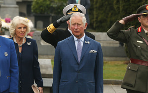 Charles and Camilla attend ceremony at Glasnevin Cemetery