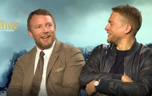 Guy Ritchie's reaction to Charlie Hunnam's comment about Madonna is priceless