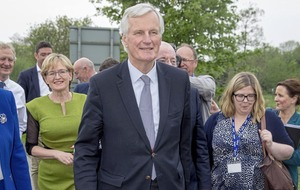 EU negotiator Michel Barnier says there's 'always an answer' for the border issue
