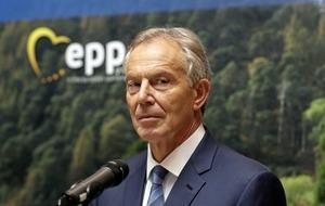 Tony Blair warns of 'hard border disaster'