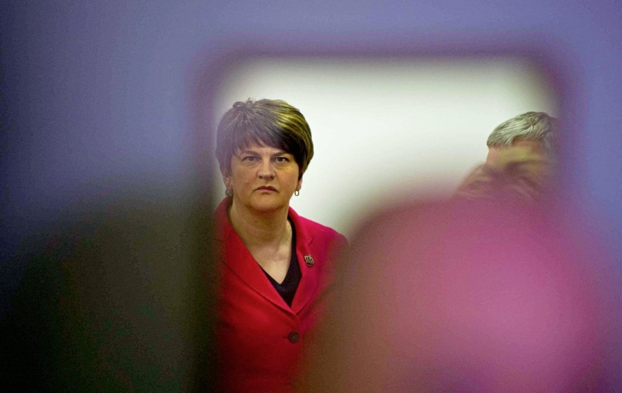 Arlene Foster given private room at election count for 'health and safety'