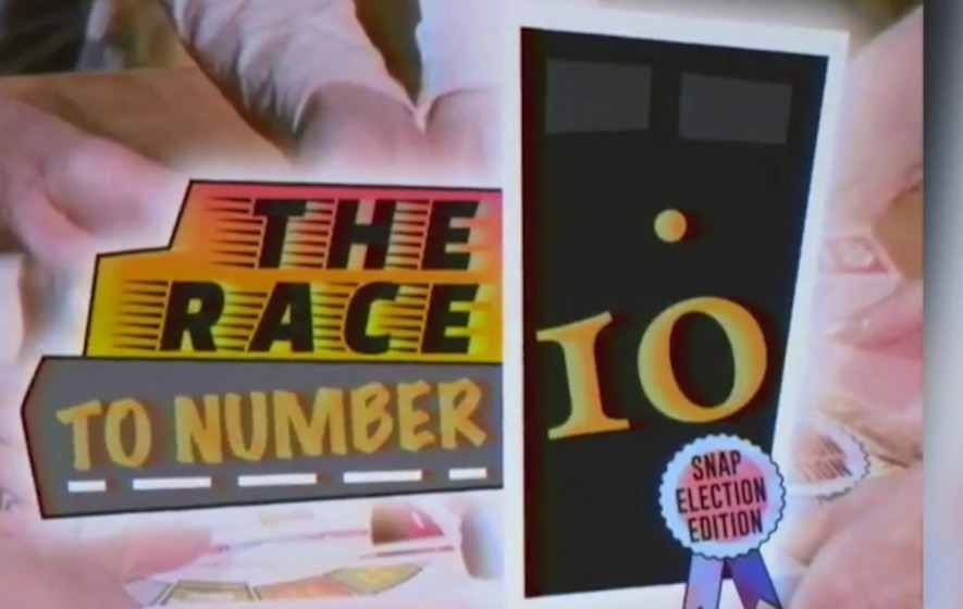 The Green Party's General Election broadcast is a spoof advert for a political board game