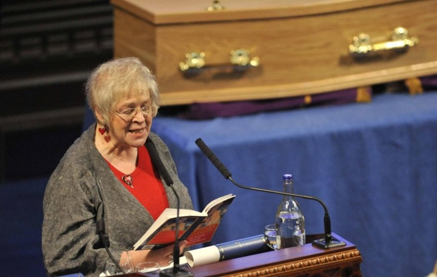 Liz Lochhead in tears as she recalls losing her husband on Desert Island Discs