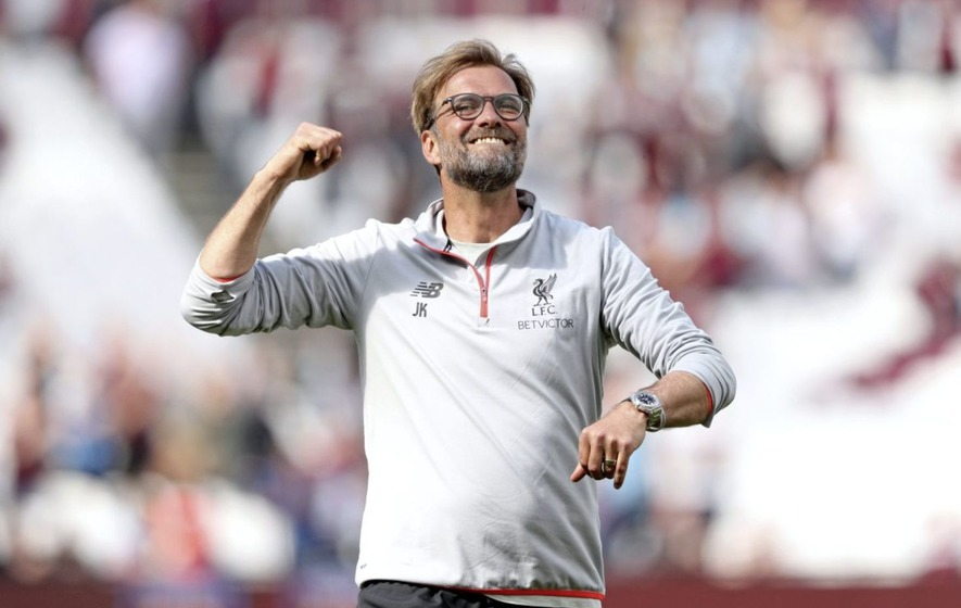 Liverpool manager Jurgen Klopp hails a perfect day after victory over West Ham