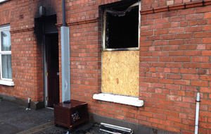 Video: Woman injured in suspected Belfast petrol bomb attack