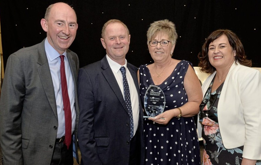 Co Down couple named NI Foster Carers of the Year