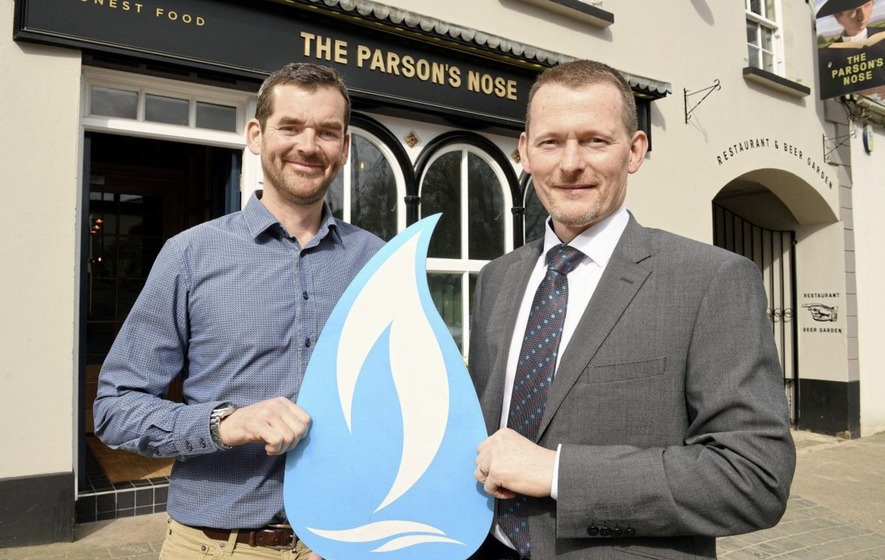 Revamped restaurant The Parson's Nose is first commercial customer in natural gas expansion