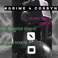 'Grime 4 Corbyn' website is offering tickets to a secret party if you register to vote