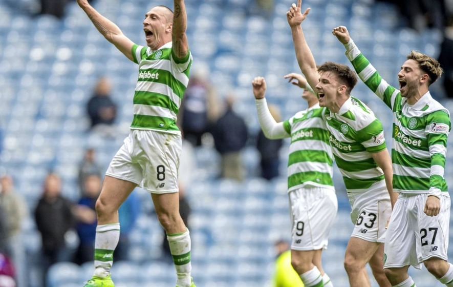 Skipper Scott Brown still loves Celtic 10 years on