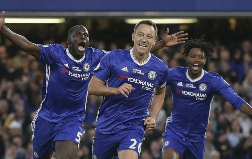 Fans across football congratulate John Terry on what could be his last Chelsea goal