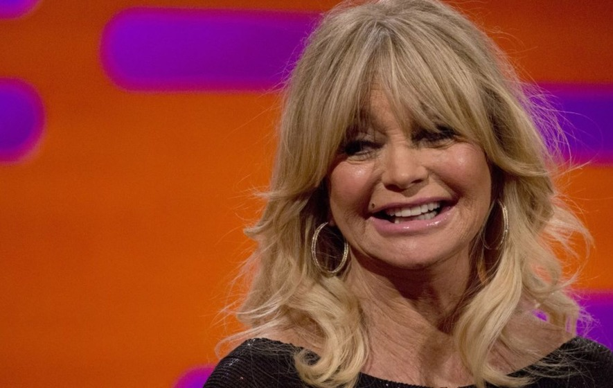 Goldie Hawn says forgiveness is important because 'men are men'