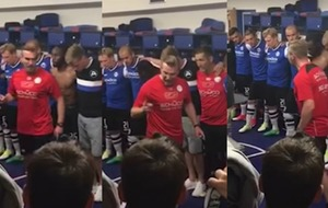 This coach put a new twist on the barnstorming pre-match team talk - and it worked