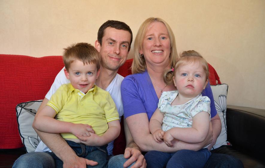 Belfast mum (39) tells of battle back from stroke while pregnant