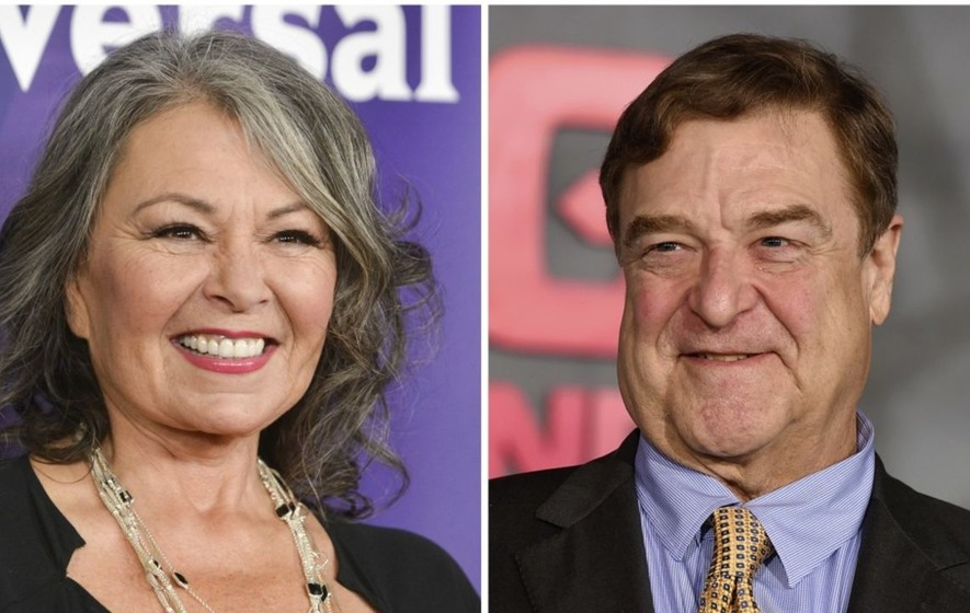 Roseanne Barr and John Goodman return for a new season of sitcom Roseanne