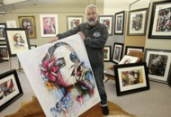 Terry Bradley's Forget-Me-Not girl inspired by his parents' dementia