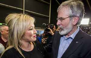 Gerry Adams and Michell O'Neill acting as recruiters for unionists