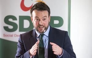 SDLP leader Colum Eastwood says Sinn Féin and DUP punishing people through Stormont crisis