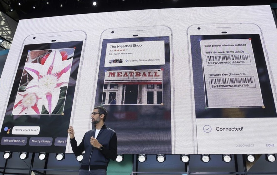 Google unveils Lens tool to let camera identify what it sees