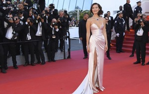 Bella Hadid takes the plunge in daring Cannes Film Festival gown