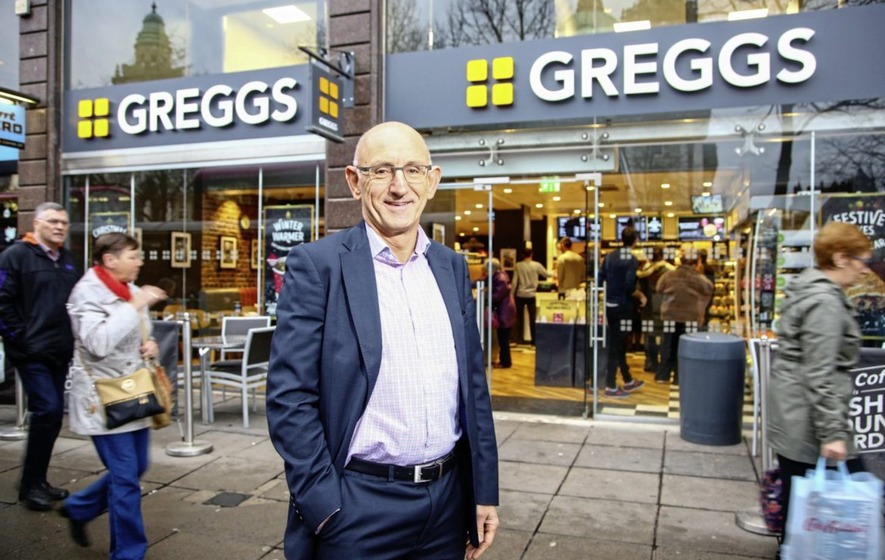 Greggs reports sales rise as healthy eating ranges prove popular