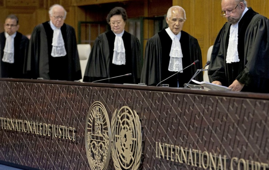International Court of Justice orders Pakistan not to execute Indian naval officer for spying
