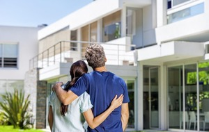 Splitting income from properties between married couples