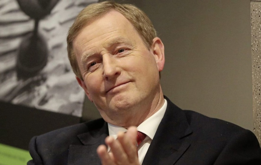 Departing Enda Kenny reiterates commitment to post-Brexit Anglo-Irish relations