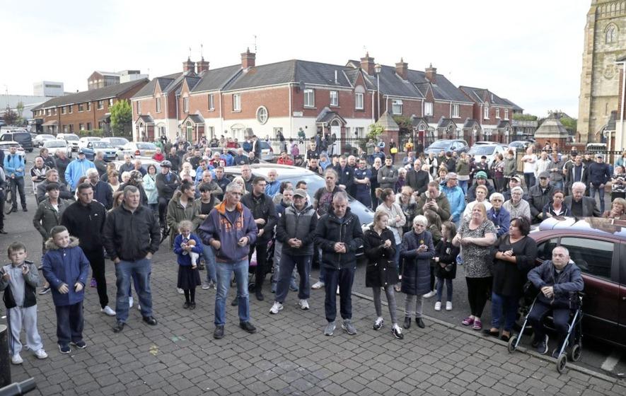 'More than a dozen' tourists mugged near Belfast's International Wall