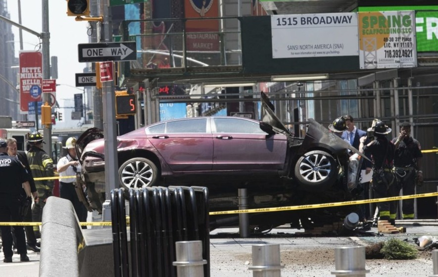 Everything you need to know about the Times Square car crash