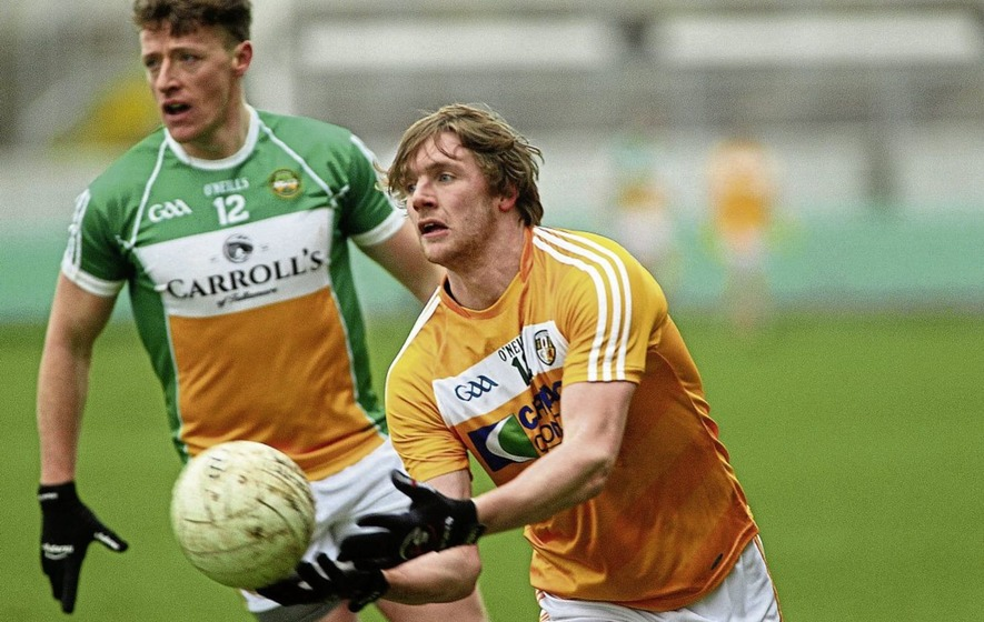 Rossa man Stephen Beatty relishing Antrim football chance