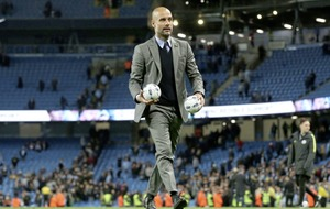 Manchester City manager Pep Guardiola calls for one last push to secure Champions League spot