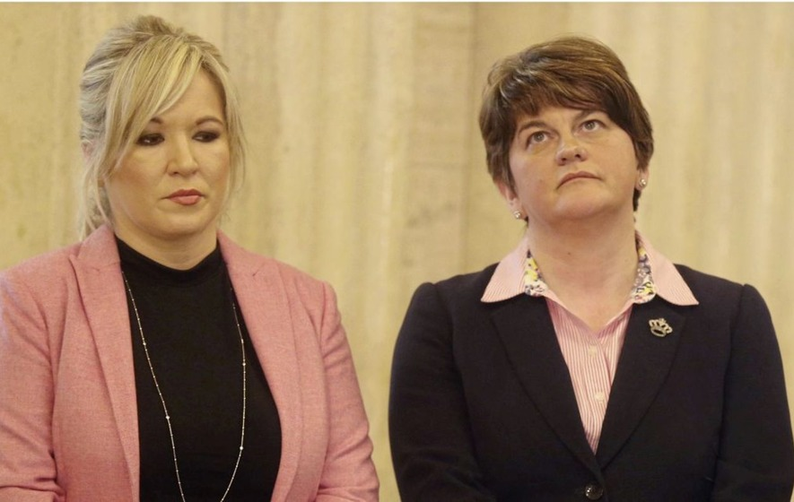 Michelle O'Neill: Arlene Foster's 'blonde' comment 'unbefitting'