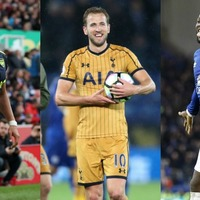 When, where and how have the Premier League's golden boot contenders scored their goals?