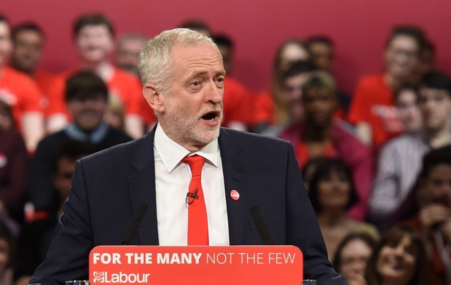 Watch Jeremy Corbyn rock up on stage at a music festival