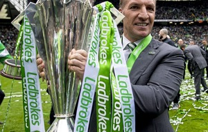 Brendan Rodgers hails his 'infrangible' Celts after they put seal on dream season with victory over Hearts
