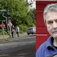 Suspended SDLP councillor putting up election posters for Alasdair McDonnell